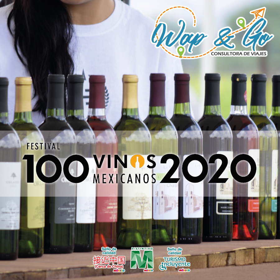 Paquete Festival 100 vinos mexicanos.