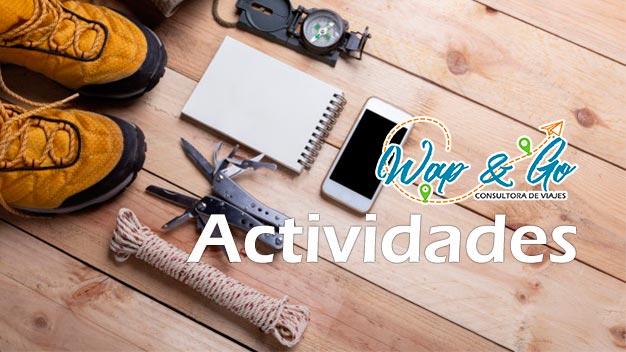 Actividades Wap & Go